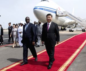 SENEGAL-CHINA-XI JINPING-ARRIVAL
