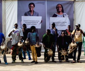 Dakar (Senegal): Opening ceremony of the Cultural Village of La Francophonie