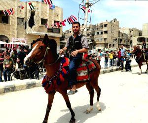 SYRIA DAMASCUS DOUMA DAILY LIFE