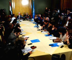 SYRIA-DAMASCUS-UN-HUMANITARIAN OFFICIAL-VISIT