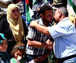 SYRIA LEBANON REFUGEES RETURNING HOME