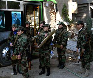 SYRIA-GIRLS COMMANDO BATTALION