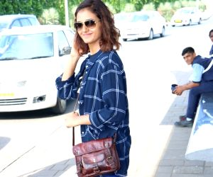Shakti Mohan spotted at Airport