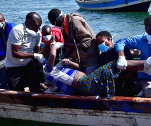 44 killed as Tanzanian ferry capsizes in Lake Victoria