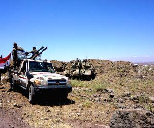 SYRIA DARAA AL MAL ARMY CAPTURE