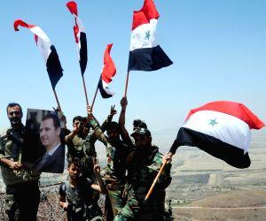SYRIA DARAA SYRIAN ARMY STRATEGIC HILL CAPTURE