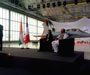 Merignac (France): Indian Air Force Rafale Handover Ceremony to the Government of India