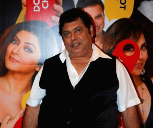 David Dhawan at the music launch of movie