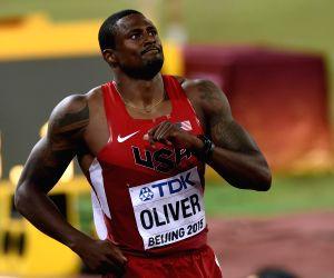 CHINA-BEIJING-IAAF WORLD CHAMPIONSHIPS-MEN'S 110M HURDLES SEMIFINAL