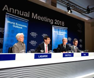 SWITZERLAND DAVOS IMF GLOBAL GROWTH FORECAST