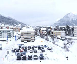 SWITZERLAND DAVOS SNOW
