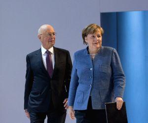 SWITZERLAND DAVOS WEF ANNUAL MEETING GERMANY MERKEL
