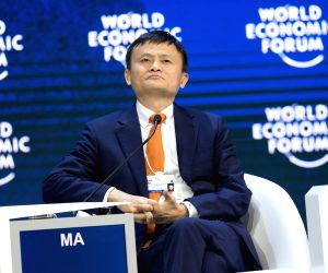 SWITZERLAND-DAVOS-WEF ANNUAL MEETING-E COMMERCE-JACK MA