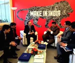 Davos (Switzerland): Devendra Fadnavis arrives to attend annual summit of WEF