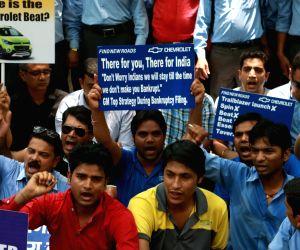 Demonstration against General Motors
