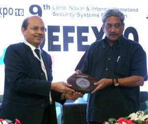 Naqueri (Goa): Defence Expo 2016 - Global Investers' Summit-Defence Sector - Parrikar