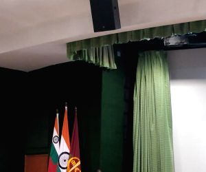 Nirmala Sitharaman at Unified Commanders' Conference 2018