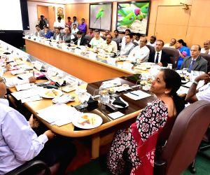 Defence Minister Sitharaman meets Karnataka CM Kumaraswamy