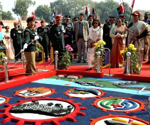 Nirmala Sitharaman visits Republic Day NCC Camp