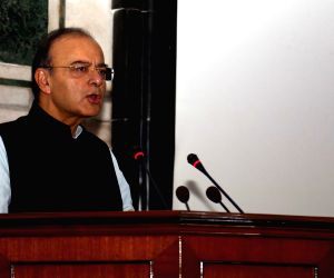 Will be decisive towards armed services' needs, Jaitley tells top chiefs ()
