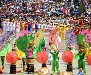 CHINA YUNNAN DEHONG WATER SPRINKLING FESTIVAL