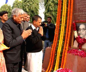 Kejriwal pays tribute to BR Ambedkar