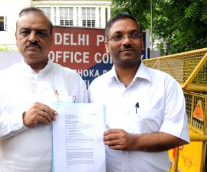 OP Sharma lodges complaint against Delhi government