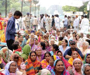 BJP MLAs protest