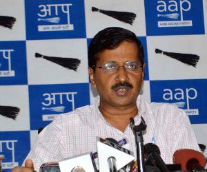 Kejriwal's press conference
