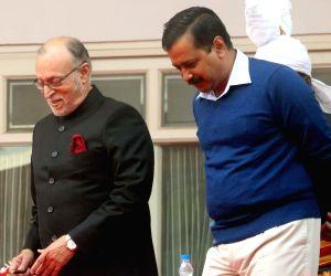 Delhi LG, CM condole Vajpayee's death