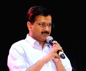 Kejriwal attacks Modi for harping on Hindu, Muslim issue