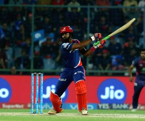 Shreyas Iyer in action