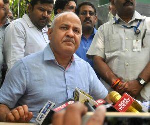 Manish Sisodia's press conference