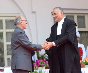 Justice Dhirubhai Naranbhai Patel takes oath as Chief Justice of Delhi High Court