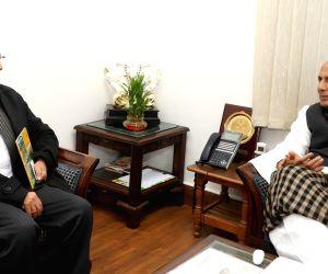 Anil Baijal calls on Rajnath Singh