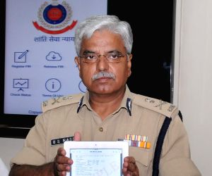 Delhi Police Commissioner launches MV theft application