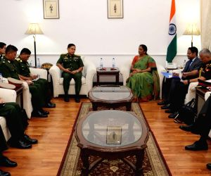 Myanmar Army chief calls on Defence Minister