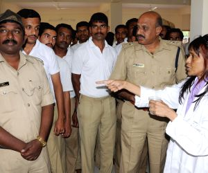 Free eye and health check up camp for Police personnel
