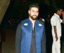 Black's the way: Designer Kunal Rawal's latest collection