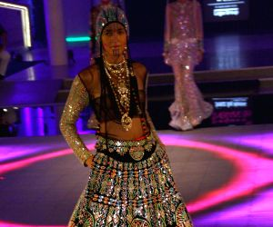 Designer Manish Arora's show at the India Couture Week 2014