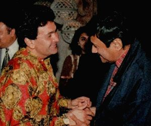 Free Photo: Dev Anand with Rishi Kapoor