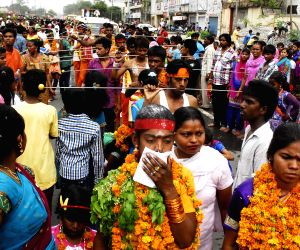 Mahamariamman - procession