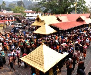 Devotees throng Lord Ayyappa temple