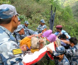 NEPAL DHADING BUS ACCIDENT