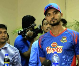 Mashrafe Mortaza's press conference