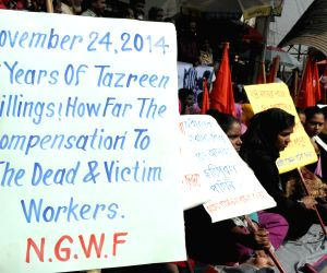 Dhaka (Bangladesh): Second anniversary of Tazreen garment factory victims