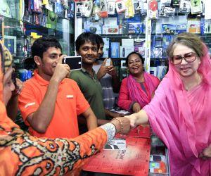Khaleda Zia campaigns