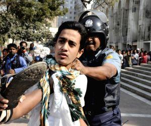 (WORLD SECTION) BANGLADESH-DHAKA-PROTEST