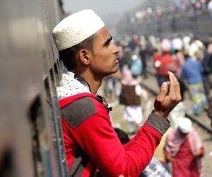 BANGLADESH-DHAKA-MUSLIM CONGREGATION