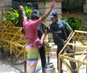 BANGLADESH DHAKA CAFE ATTACK POLICE WARNING
